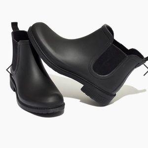 Madewell Chelsea Rain Boot, Black
